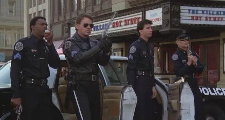 полицейская академия серия 2